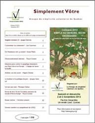 Bulletin Vol 10.2 Automne 2013