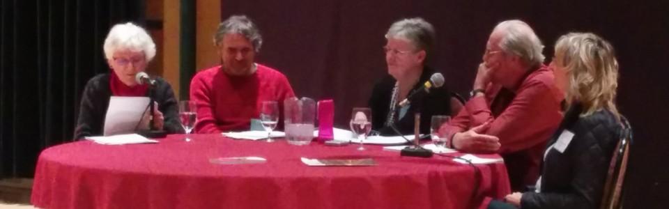 Table ronde avec Diane Gariépy, Lucie Mandeville, Jacques Delorme et Jacques Senécal animée par Lise Gauvreau